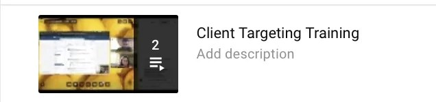 Targeting Client