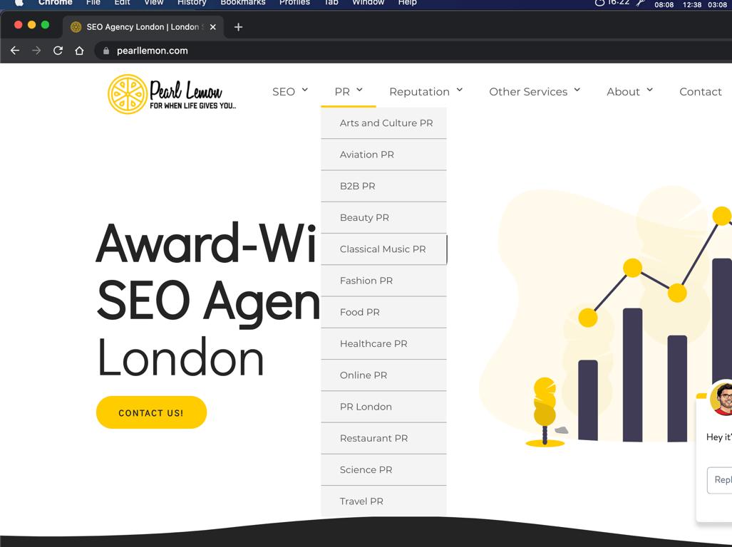 Pearl Lemon Home Page