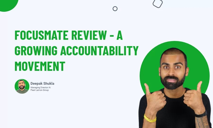 Focusmate Review - a growing accountability movement