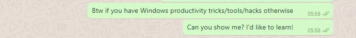 WhatsApp View