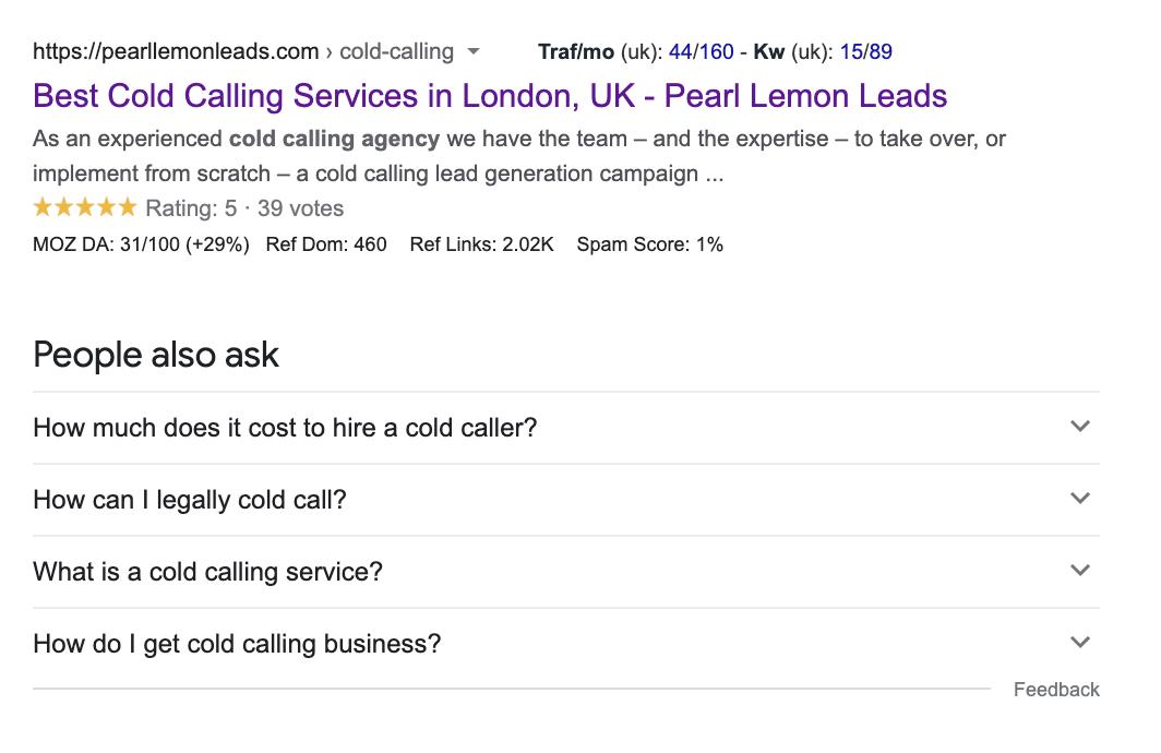 Google Search View