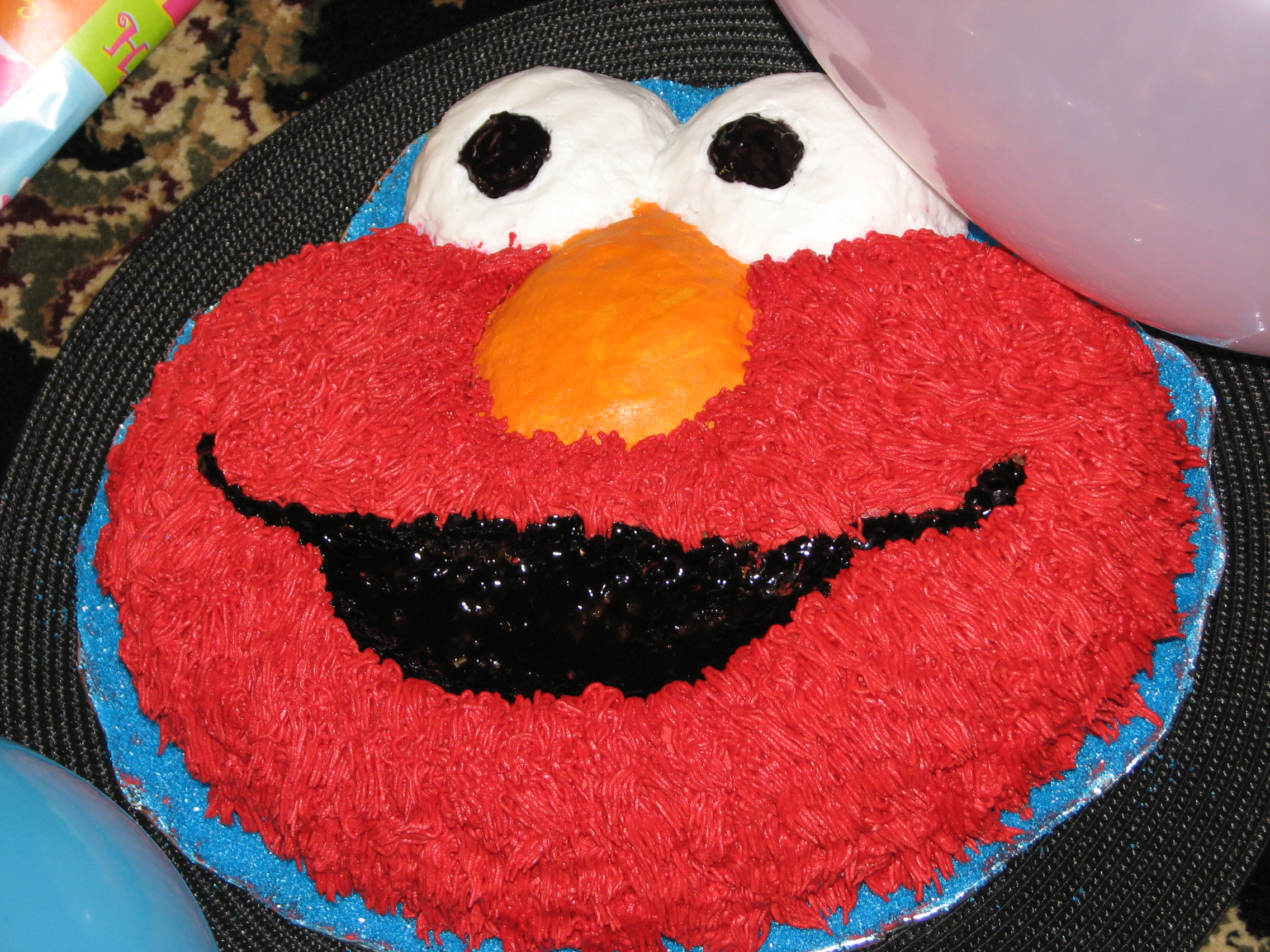 Elmo Cake My Treasure My Pleasure