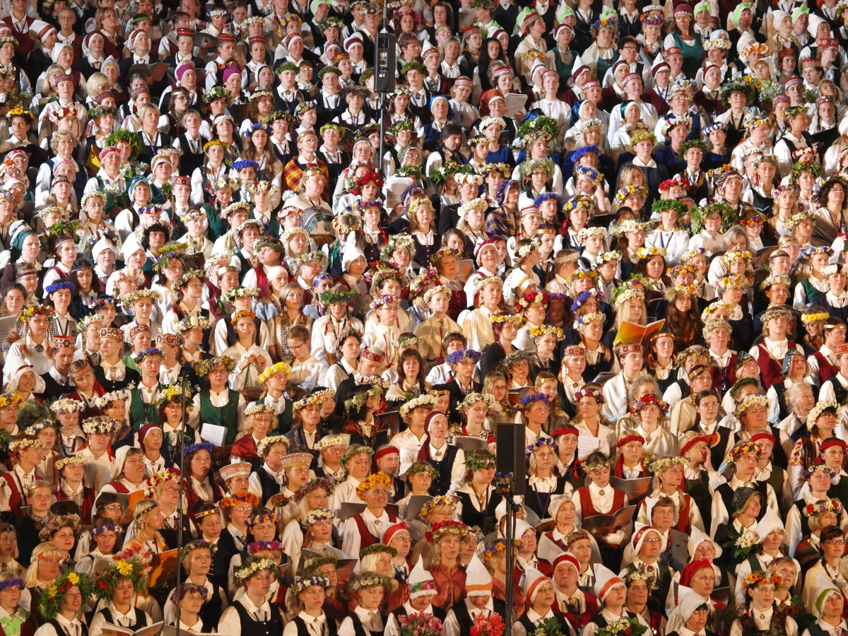 Sixteen Thousand Voices in Perfect Harmony: Latvia's Incredible Song Festival