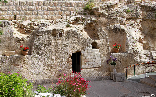 The Garden Tomb in Israel