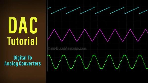 Digital To Analog Converter (DAC) & Waveform Generation With MCU