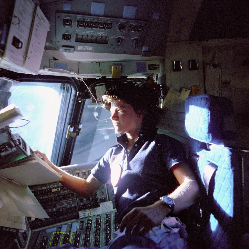 My Heart Went to Space With Sally Ride
