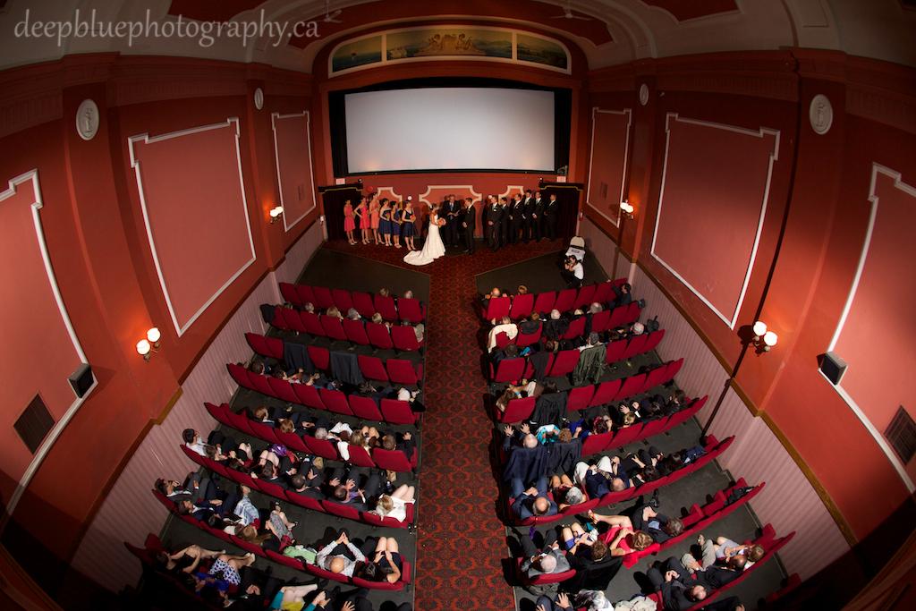 Fringe Arts Barn Wedding  Princess Theatre Wedding  Deep