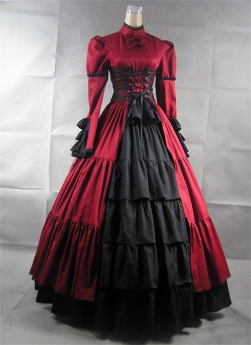 New Ball Victorian Dresses