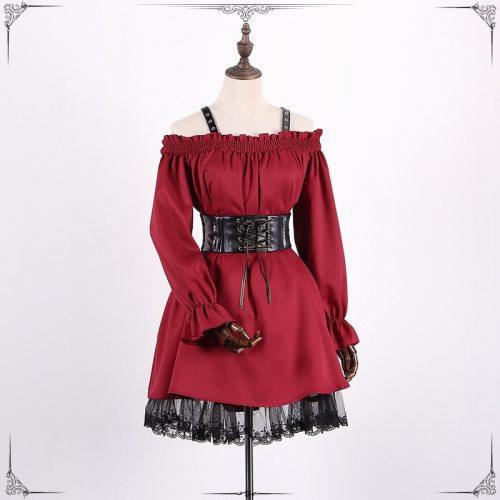 Vintage Long Sleeves Victorian Dresses
