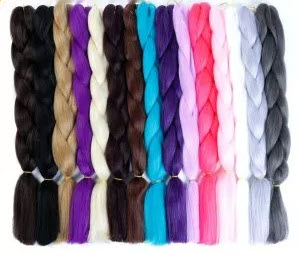 Synthetic Box Braids Hair Extensions