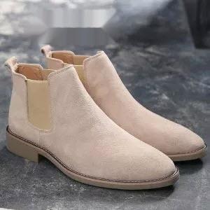 Leather Luxury Men Chelsea Boots