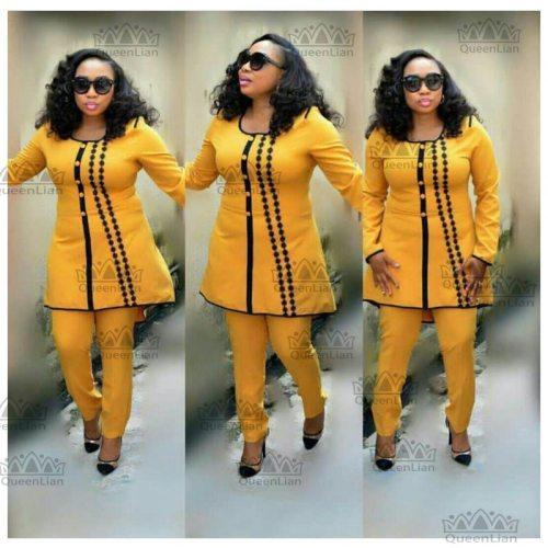 Women African Dashiki Suit