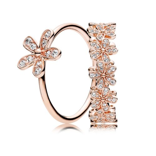 Dazzling Rose Gold Engagement Rings