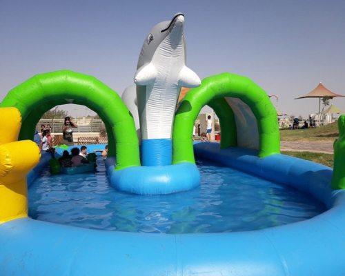 Kiddies Outdoor Inflatable Pool