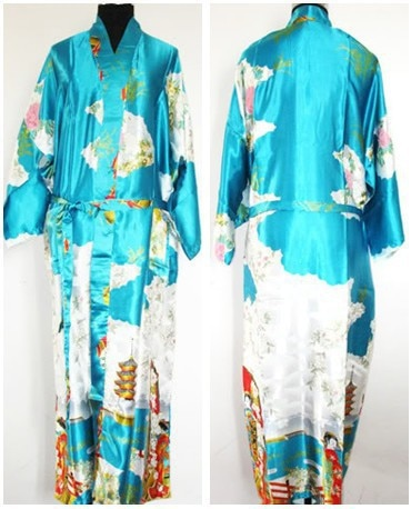 Women Silk Kimono Robe