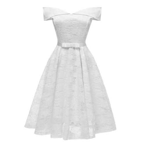 A-Line Off-Shoulder Homecoming Dresses