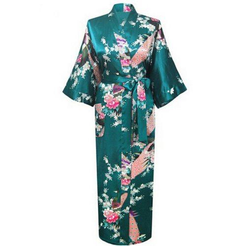 Flashy Women Kimono Robe