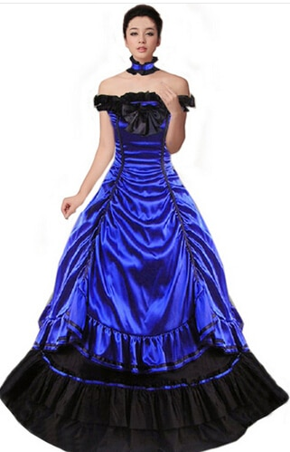 Customized Women Victorian Ball Gown