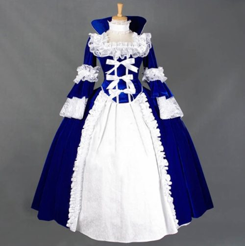 Attractive Long sleeved Victorian Dresses