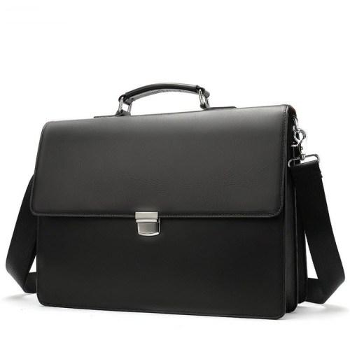 Classic Genuine leather Messenger Bag