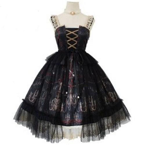 sleeveless victorian dresses