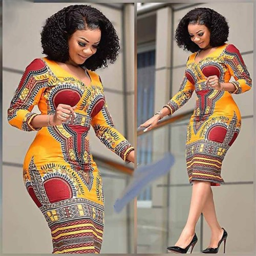 Fashionable African Dashiki Dresses