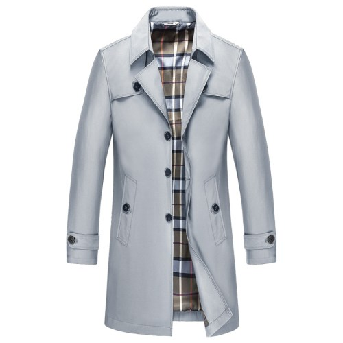 Fashionable Trench Coat Men