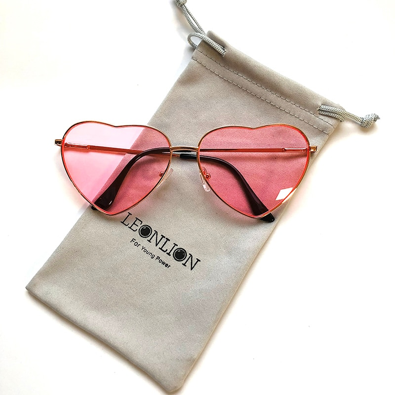Vintage Heart Fashion Glasses