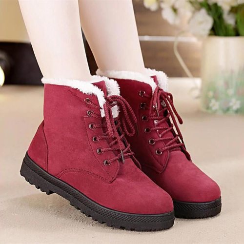 Fur Plush Women Boots