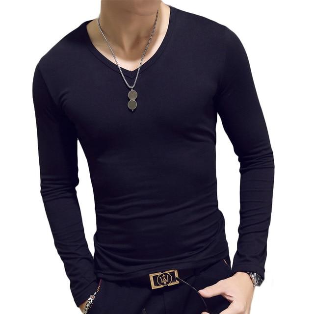 Classic Men Long Sleeve T-shirts