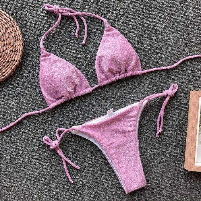 Ladies Thong Sling Bikini