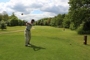Citizens Advice Surrey Heath Charity Golf Day 2014 - Alan Meeks and Mike Hillman (33)