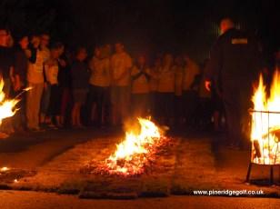 Pine Ridge Golf Club Fire Walk 2015 - Paul Deach - 7