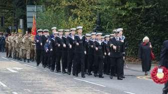 Surrey Heath Remembrance Parade 201541