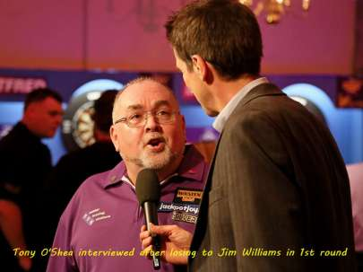 Lakeside BDO Darts 2 Jan 2016 - Alan Meeks 8