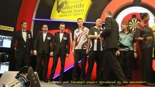 Lakeside BDO Darts 5 Jan 2016 afternoon - Alan Meeks 60