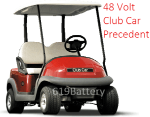 Club Car Precedent Battery Replacement  Deep Cycle Battery Store