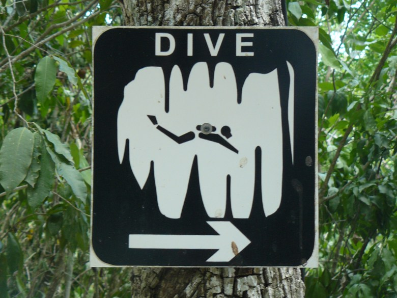 Cenote Entrance fees to be paid before Cavern or cave Diving