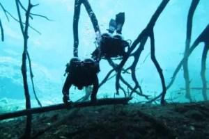 Cours de plongée caverne - Cenote Carwash