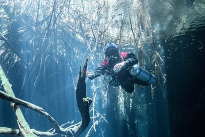 Peio Tek and cave Diving Instructor