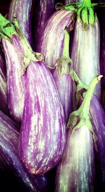 Farmer's Market Eggplants