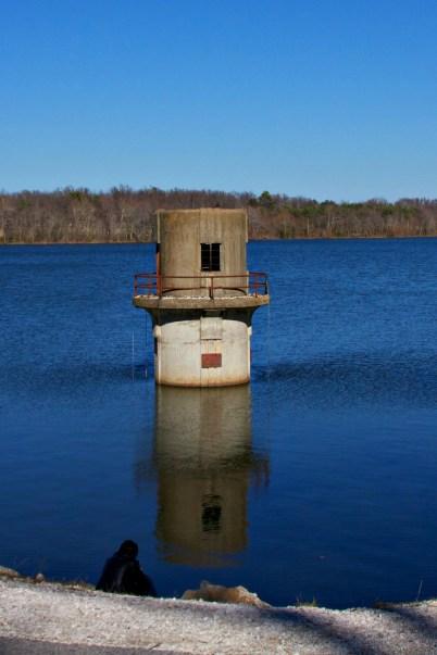 Lake Fayetteville Reflections