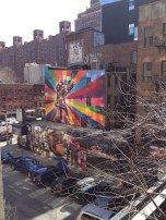 Graffiti along the High Line