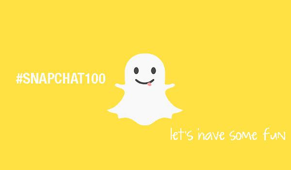 snapchat100