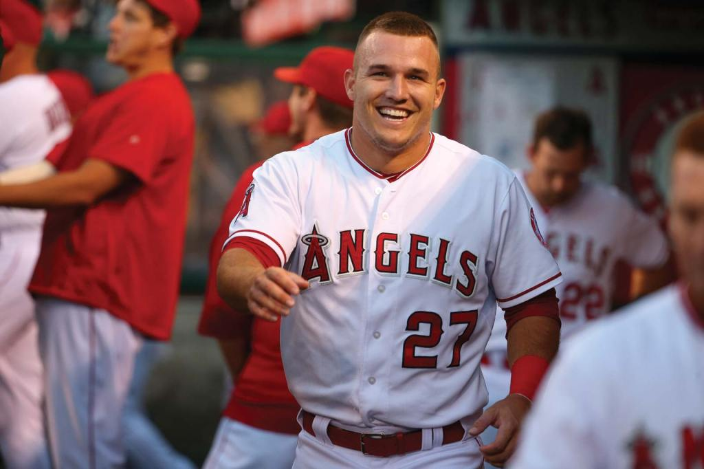 mike trout angels 2021 deepersport