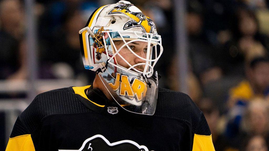 tristan jarry Pittsburgh Penguins goaltender deepersport