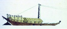 A dhow drawn by Jenny