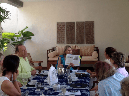 Galle Fort - authors' lunch