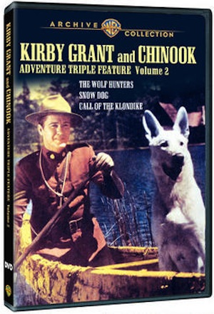 Kirby Grant and Chinook (Warner Archive)