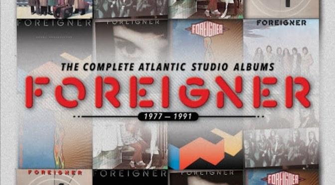 Foreigner's Atlantic Studio Collection Set for Fall Release